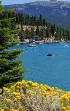 Agate Bay. Lake Tahoe, California.