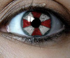 These would be sweet contacts to get just for fun... wonder how many would notice and understand