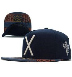 Newest X Cayler   Sons snapback caps new men s hip hop baseball hats navy  blue freeshipping 419c922404c
