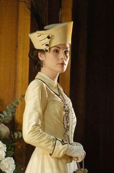 Michelle Dockery in Pygmalion (2008 stage production)