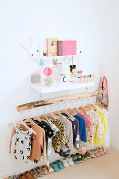 Essentials Stored In The Open - Tips For Stylish Small Space Nurseries - Photos