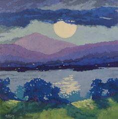 Lights Across the Water Moorcroft Musings Series