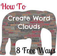 Free Online Word-Cloud Generator Tools