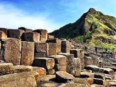 Beauty of the Giant's Causeway in Northern Ireland