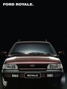 1993 Ford Royale Ghia - Brasil