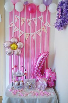 Birthday Room Decorations, Baby Shower Table Decorations, Backdrop Decorations, Birthday Party Decorations, Barbie Birthday Party, Birthday Diy, Birthday Photos, Birthday Parties, Cheap Helium Balloons