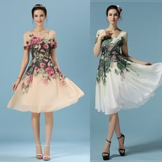 Cheap dress shirt tie set, Buy Quality dress male directly from China dress sex Suppliers: Free Shipping Vintage Women Summer Dress White Floral Elegant Chiffon Midi Dresses US 6 - 12 M-7068 Features: