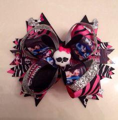 Monster High Bow via Etsy