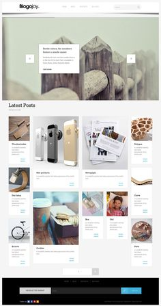 Blogojoy is a content sharing WordPress theme from Tesla Themes. The theme is specifically designed for bloggers and content lovers to share their content.