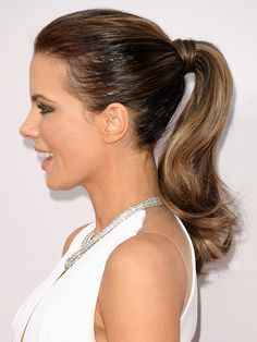 25 Photos That Prove Kate Beckinsale Is the Ultimate Ponytail Icon   People