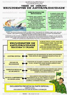 EXCLUDENTES NO DIREITO PENAL - ILICITUDE, CULPABILIDADE, TIPICIDADE - Entendeu Direito