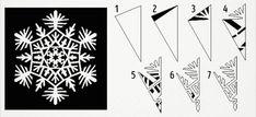 20 návodů na krásné papírové vločky | ProNáladu.cz Christmas Decorations, Paper Crafts, Cards, Tissue Paper Crafts, Paper Craft Work, Papercraft, Maps, Playing Cards, Christmas Decor