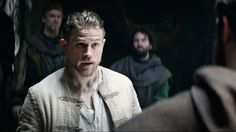 """Charlie Hunnam talks about the making of """"King Arthur"""" and his reaction to the new trailer."""