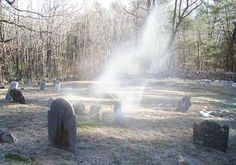 Spider gates cemetary,Leicester MA, They say its haunted, Ive never seen anything.