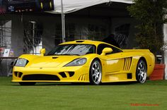 Ford Saleen S7 on fast cool cars, Exotic sports car, twin turbo, killer yellow paint job