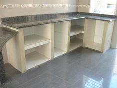 Risultati immagini per cocinas en mamposteria Kitchen Cupboard Designs, Kitchen Cupboard Doors, Kitchen Cabinets Decor, Kitchen Sets, Home Decor Kitchen, Kitchen Layout, Kitchen Interior, Home Kitchens, Concrete Kitchen