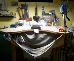 workspace for jewelry makers