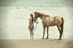 Horse Photo Shoot On The Beach (Montaña de Oro State Park)