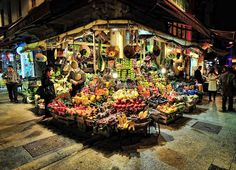 Corner Grocer Istanbul. Wow. Not like the corner grocery stores here.