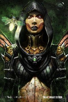 D'Vorah (Mortal Kombat X)  by Flavio Luccisano
