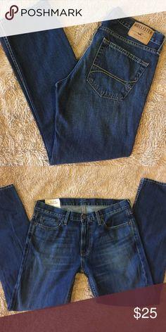 "Men's Hollister jeans Slim fit -straight leg- 32""x30"" Hollister Jeans Slim Straight"
