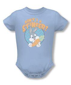 Loving this Light Blue 'Ain't I A Stinker' Bodysuit - Infant on #zulily! #zulilyfinds