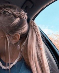 22 Pretty Braided Ponytail Hairstyles You Should Try This Se.- 22 Pretty Braided Ponytail Hairstyles You Should Try This Season Sporty Hairstyles, Braided Ponytail Hairstyles, Box Braids Hairstyles, Girl Hairstyles, Hairstyle Ideas, Wedding Hairstyles, Softball Hairstyles, Casual Hairstyles For Long Hair, Updo Hairstyle