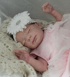"REBORN BABY ""KNOX"" Laura Lee Eagles-CUSTOM ORDER- SOLD OUT - Delta Dawn Mohair"
