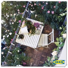 Cheap Wooden Floor to style your balcony