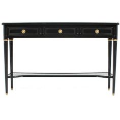 Superb French Louis XVI Console Table (€3.040) ❤ liked on Polyvore featuring home, furniture, tables en accent tables
