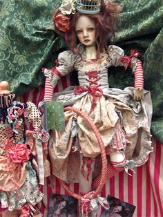 Porcelain doll by Crystal Bernard via Flickr