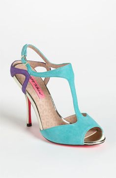 In love. These are too much fun! Betsey Johnson 'Blonddee' Sandal available at #Nordstrom