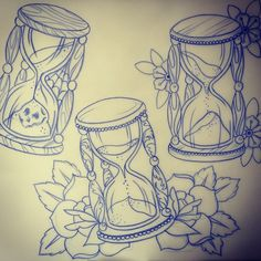 hourglass drawing - Google Search