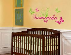 Baby and Kids room Name and initial with by VillageVinePress, $24.95