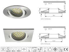 mennyezetbe süllyeszthető led lámpa - Google keresés