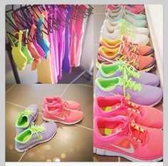 Chantelle if you get to your goal weight I will allow you to purchase a top, pants and runners in every colour.