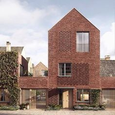 Haus Denker-The stylish, flexible family kingdom. - BAUMEISTER-HAUS® cooperation e. Tradition can be so beautiful: with its colorful facing brickwork, glossy black half-hipped roof, flight of caves and wide gables, Architecture Design, Architecture Magazines, Residential Architecture, Architecture Visualization, Social Housing Architecture, Online Architecture, Architecture Awards, Architecture Student, Architecture Portfolio