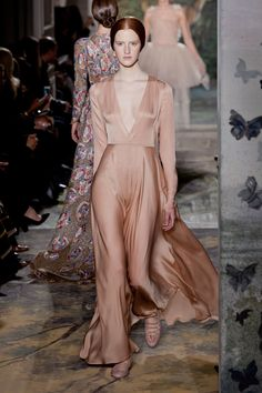 Valentino Haute Couture Spring 2014 - the drape *swoons*