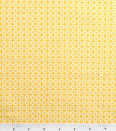 Quilter's Showcase Fabric-Flower Dot Yellow: keepsake calico fabric: quilting fabric & kits: fabric: Shop   Joann.com