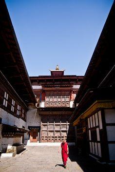 inside Tongsa Dzong, Tongsa, Bhutan