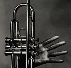 Miles Davis by Irving Penn, 1986.