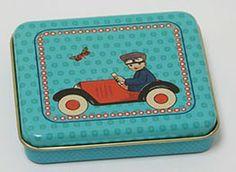 Froy & Dind - liga/ snack doosje jongen in auto