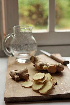 fresh ginger syrup recipe by David Lebovitz
