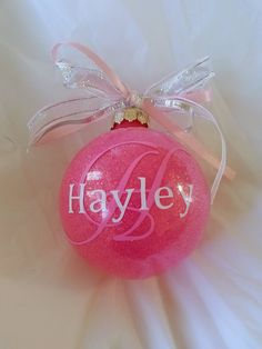 Custom Ornament Handmade Ornament Christmas by GettingMyArtsyOn