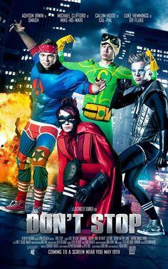 5sos, Michael Clifford, Calum Hood, Luke Hemmings and Ashton Irwin, Don't Stop superheroes