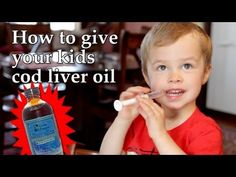 Why and How to Give your Kids Cod Liver Oil Benefits of Cod Liver Oil for Babies' and Children's Vision and Brain Development