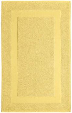 "Lauren Ralph Lauren Wescott 22"" x 36"" Tub Mat Bedding. #yellowrug #arearug #rugs #yellow #afflnk"