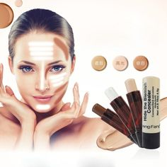 Face Contour Shimmer Bronzers Highlighters Stick Long-lasting Minerals Concealer #FaceContourChina