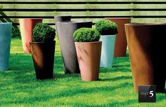 Jardinera Mod. LISCIO SIENA #macetas #decoracion #jardineria