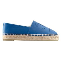Espadrilles ❤ liked on Polyvore featuring shoes, sandals, espadrille shoes, blue espadrilles, blue sandals, espadrille sandals and blue shoes